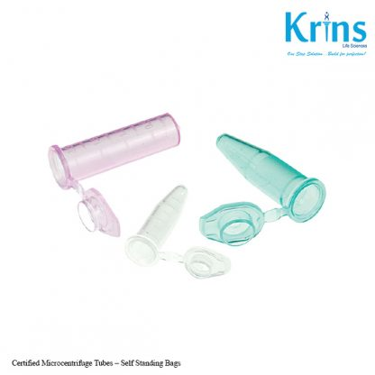 Certified Microcentrifuge Tubes – Self Standing Bags