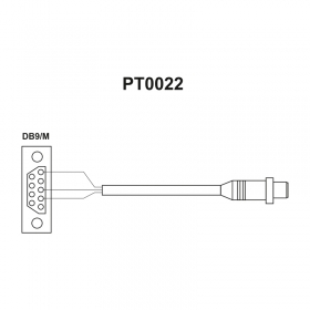 RS 232 cables (scale – ZEBRA printer)