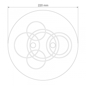 Self-centering pan for APP KO comparator