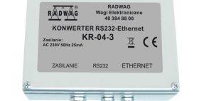 RS232 – Ethernet Converter