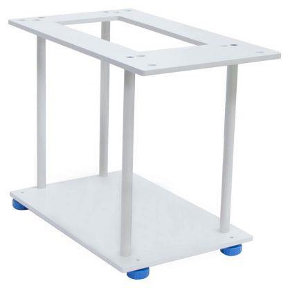 Under-hook weighing rack