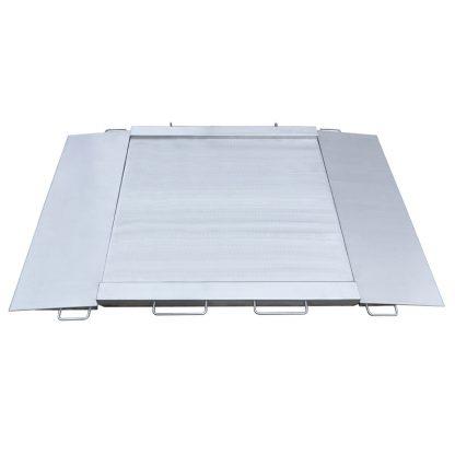 Ramp stainless steel platforms