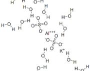 Aluminium Potassium Sulphate Dodecahydrate extrapure AR, 99.5%