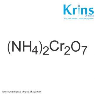 ammonium bichromate extrapure ar, acs, 99.5%