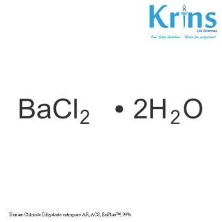 barium chloride dihydrate extrapure ar, acs, exiplus™, 99%