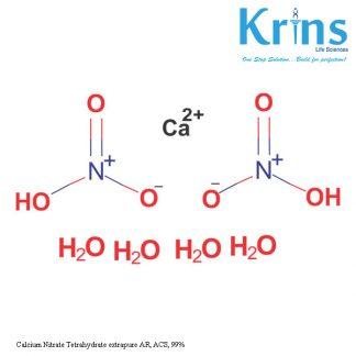 Calcium Nitrate Tetrahydrate extrapure AR, ACS, 99%