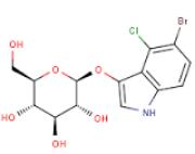 5-Bromo-4-Chloro-3-Indolyl-b-D-Glucopyranoside (X-Glu, X-Glc) for tissue culture, 99%