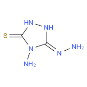 4-Amino-3-Hydrazino-5-Mercapto-1,2,4-Triazole (AHMT),98%