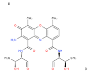 Actinomycin D (AMD) extrapure, 98%