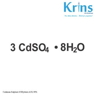 Cadmium Sulphate 8/3Hydrate ACS, 98%