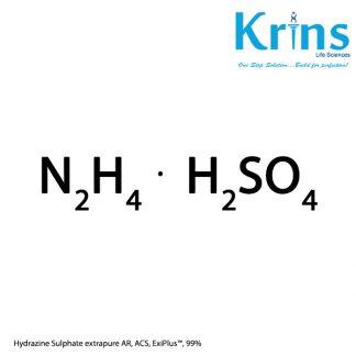 hydrazine sulphate extrapure ar, acs, exiplus™
