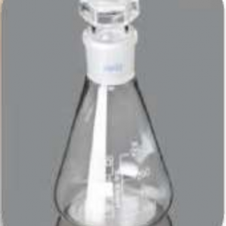 Erlenmeyer Flask With Glass Hollow Stopper 250ml