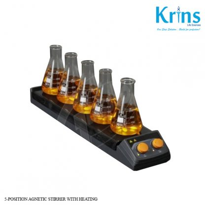 5 position agnetic stirrer with heating