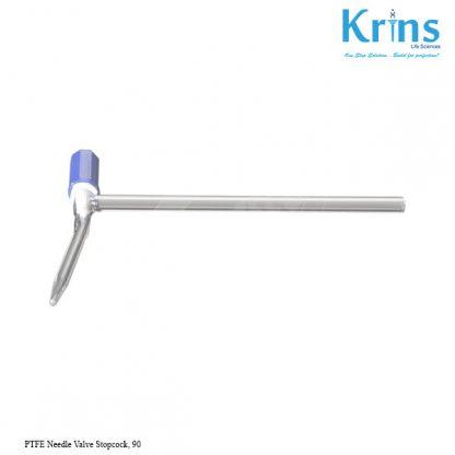 ptfe needle valve stopcock, 90