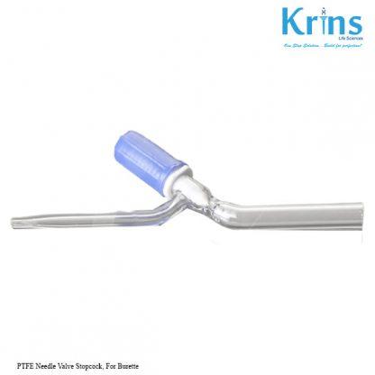 ptfe needle valve stopcock, for burette