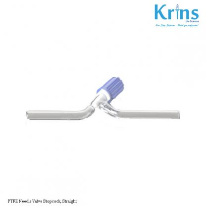 ptfe needle valve stopcock, straight